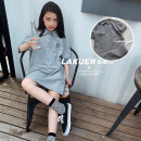 Dress female Other / other 5 (recommended height 100cm), 7 (recommended height 110cm), 9 (recommended height 120cm), 11 (recommended height 130cm), 13 (recommended height 140cm), 15 (recommended height 150cm), 17 (recommended height 160cm), 19 (recommended height 165cm) Other 100% summer Long sleeves