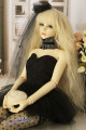 BJD doll zone Dress 1/3 Over 14 years old goods in stock Black, white 4 points, 3 points chest circumference 23-25, 3 points big female chest circumference 28-30, 3 points big female chest circumference 31-33