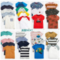 T-shirt Next male summer Short sleeve Crew neck leisure time Official pictures nothing cotton Cartoon animation Cotton 100% other Sweat absorption 3 months, 6 months, 12 months, 9 months, 18 months, 2 years old, 3 years old, 4 years old, 5 years old, 6 years old, 7 years old