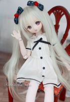BJD doll zone Dress 1/4 Over 14 years old goods in stock White, khaki, black 6 points default size, 4 points default size( MSD.MDD ), 3 female default size