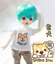 BJD doll zone jacket 1/4 Over 14 years old goods in stock Printed T 6 points, 4 points, 3 points, popo68, Pu Shu sd17, SSDF, GUI 2, etc