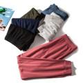 Casual pants trousers Natural waist cotton cotton