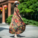 Dress Summer 2020 M, L longuette singleton  elbow sleeve commute Crew neck Loose waist Decor Socket other Sleeve Others Type H Xiao Su's travel diary literature More than 95% silk