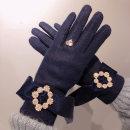 glove Wool / cashmere Average size Finger gloves