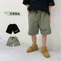 trousers Other / other male 130, 140, 150, 160, 170 Black, military green, black pre-sale, military green pre-sale summer shorts Korean version There are models in the real shooting Casual pants Leather belt middle-waisted cotton Don't open the crotch Polyamide (nylon) 98% other 2% JXQ12DK1308