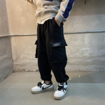 trousers Other / other male 130, 140, 150, 160, 170 black spring and autumn trousers Korean version There are models in the real shooting Casual pants Leather belt middle-waisted cotton Cotton 80% other 20% XCRQ11KZ1045 Class B XCRQ11KZ1045 Chinese Mainland Guangdong Province Guangzhou City