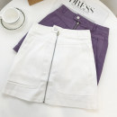 skirt Spring 2021 M, L Purple, white Short skirt 25-29 years old D.SIXTH