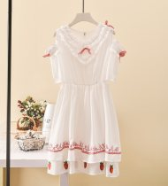 Dress Summer of 2018 5 yuan for the first 3 new products S M L longuette Other / other 51% (inclusive) - 70% (inclusive) Chiffon