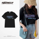 T-shirt Youth fashion White, black routine S,M,L,XL,2XL,3XL HEYBIG Short sleeve Crew neck easy Other leisure summer THDX4618AA Cotton 100% teenagers routine Hip hop 2021 printing cotton Designer brand