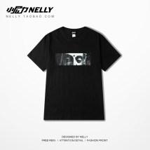 T-shirt Youth fashion White grey black routine S M L XL 2XL 3XL HEYBIG Short sleeve Crew neck Self cultivation Other leisure summer THDX0580XX routine