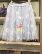 skirt Summer 2017 L Light blue, white