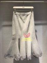skirt Winter of 2019 S,M,L Light grey