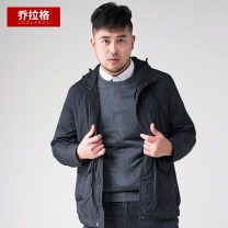 Jacket Joglakol / jorag Fashion City black routine easy Other leisure spring Large size polyester fiber