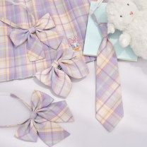 Bow tie lattice Ordinary dress leisure time Polyester Yarn dyed weaving Polyester Sennu tribe Common type (7cm-12cm)