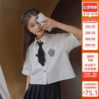 Fashion suit Summer 2020 S,M,L White, black 18-25 years old Sennu tribe Y1474a2 96% and above cotton