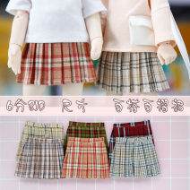 BJD doll zone trousers 1/6 Over 14 years old Pre sale Mig-6-point pleated skirt, green-6-point pleated skirt, khaki-6-point pleated skirt, dark red-6-point pleated skirt, pink-6-point pleated skirt, kalan-6-point pleated skirt goods in stock