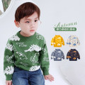 Sweater / sweater 90cm,100cm,110cm,120cm,130cm Acrylic blend male DOUBAO KIDS Cartoon There are models in the real shooting Socket routine Crew neck nothing Ordinary wool Cartoon animation 2 years old, 3 years old, 4 years old, 5 years old, 6 years old