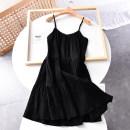 Dress Summer 2020 black 34,36,38,40,42 Mid length dress singleton  Socket Other / other 30% and below