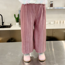 trousers Little elephant female Dark grey, pink spring and autumn leisure time There are models in the real shooting Casual pants Leather belt middle-waisted Don't open the crotch Other 100% Two, three, four, five, six, seven, eight, nine
