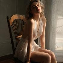 Fun pajamas Nylon, mesh Other / other Fun Pajama skirt G1067 # white, g1067 # lotus root powder Short skirt Average size