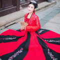 National costume / stage costume Spring of 2019 Si Hongyan's cardigan was delivered on the same day, and Si Hongyan's twelve broken skirts were delivered on the same day S,M,L,XL On Qi Fu