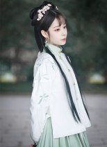 National costume / stage costume Winter of 2018 Chunyi jacket is delivered on the same day, and Chunyi skirt is delivered on the same day S,M,L,XL On Qi Fu