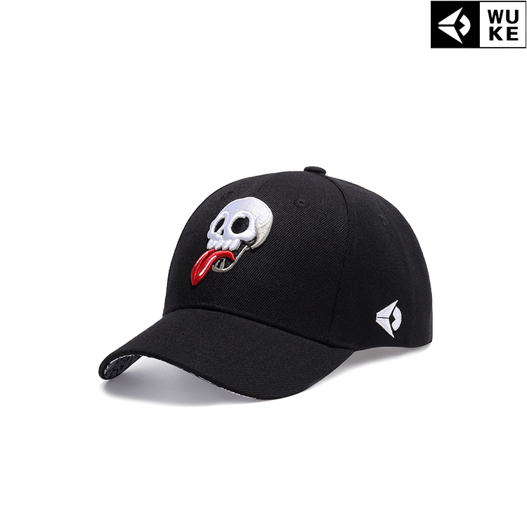Hat canvas Grey black Adjustable Hip hop hat Spring summer autumn winter currency street Young lovers dome Short eaves Embroidery stage Hemming k310
