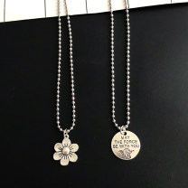 Necklace Titanium steel RMB 1.00-9.99 Mimi's words Star Wars round, cherry blossom, chain never fade brand new other goods in stock yes Fresh out of the oven 51cm (inclusive) - 80cm (inclusive) no nothing Not inlaid