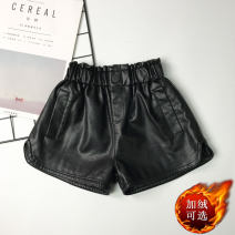 trousers Other / other female 100cm,110cm,120cm,130cm,140cm,150cm,160cm Black, black (plush) spring and autumn shorts Korean version No model Boots and trousers Leather belt High waist other Don't open the crotch Other 100% 17681# Class B Chinese Mainland Zhejiang Province Huzhou City