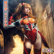 Cosplay women's wear suit goods in stock Over 14 years old Animation, original, film and television, games Iacos Japan Fan Yujie, otaku Evangelical warrior of the new century (EVA) Asaka Asaka