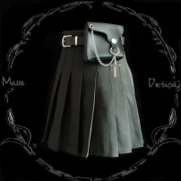 skirt Autumn of 2019 L,S,M Black, black [single belt] Other / other
