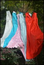 Dress Summer of 2018 5 pink, 1 white, 3 red, 2 blue, 4 light blue 40, 36, 34, 38