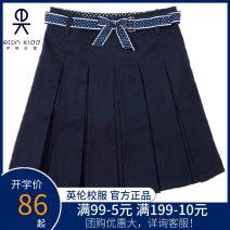 skirt Eton Kidd / Eton Kidd female Cotton 60% polyester 40% skirt Britain Solid color Pleats other Class B