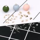 Other DIY accessories Other accessories other 0.01-0.99 yuan KC gold 3mm (1) - E549 KC gold 5mm (1) - e550 white k3mm (1) - e551 white k5mm (1) - E552