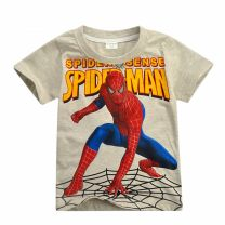 T-shirt Other / other 100cm,110cm,120cm,130cm,140cm,150cm male summer Short sleeve Crew neck leisure time No model nothing Pure cotton (100% cotton content) Cartoon animation Cotton 100% Class B Sweat absorption Three, four, five, six, seven, eight