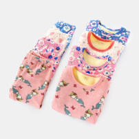 Home suit Yiqi baby The recommended height is about 90 for crotch 90, about 100 for crotch 100, about 110 for sign code 110, about 120 for sign code 120, and about 130 for sign code 130 winter female Cotton 95% polyurethane elastic fiber (spandex) 5% Home cotton AE03NY0005