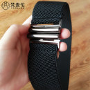 Belt / belt / chain cloth 5cm wide - black, 5cm wide - white, 5cm wide - red, 6cm wide - black, 6cm wide - white, 6cm wide - red, 6cm wide - dark purple, 5cm wide - dark purple female Waistband Simplicity Single loop Children, youth, youth, middle age, old age a hook Double button soft surface 5cm
