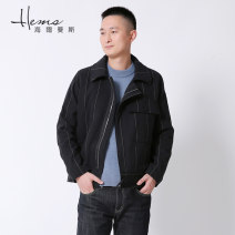 Jacket Helmans Fashion City II 170/88A/L 175/92A/XL 180/96A/2XL routine standard go to work autumn AC11801 Cotton 99.3% others 0.7% Long sleeves Wear out Business Casual routine Solid color Autumn of 2019 Pure e-commerce (online only) cotton