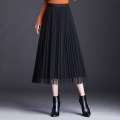 skirt Winter of 2019 One size fits all, shopping cart + collection + pay attention to shops enjoy priority delivery Black, coral red, emerald green commute High waist Pleated skirt Solid color Type A 40-49 years old OSYWWX1374 91% (inclusive) - 95% (inclusive) other Other / other polyester fiber