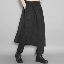 Casual pants Original line Fashion City black M,L,XL routine Ninth pants Other leisure Self cultivation No bullet Or33191 spring youth tide 2020 middle-waisted Cotton and hemp