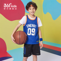 suit 361° 130cm 140cm 150cm 160cm 170cm male summer motion Sleeveless + pants 2 pieces routine There are models in the real shooting Socket nothing other Polyester 100% Summer 2021 7, 8, 9, 10, 11, 12 Chinese Mainland Fujian Province Quanzhou City