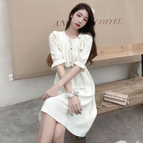 Dress Summer 2021 Yellow, blue, black, light apricot S,M,L Other / other 5001 in stock