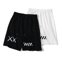 Sports pants / shorts For men and women M,L,XL,XXL White, black L3008 Other / other Pant Frenulum Embroidery Sports & Leisure cotton Men's training cotton
