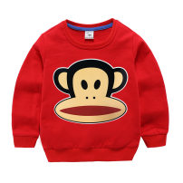 Sweater / sweater Other / other neutral 100cm, 110cm, 120cm, 130cm, 140cm, 150cm, 80cm (open shoulder), 90cm (open shoulder) spring and autumn nothing motion Socket cotton Cartoon animation Class A