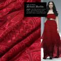 Fabric / fabric / handmade DIY fabric silk Loose shear piece Plants and flowers jacquard weave clothing Europe and America