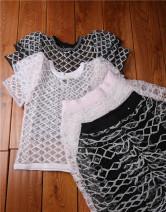 skirt Spring 2021 XL,L,M,S Pink suit, black suit, a black only half skirt, b black only half skirt with less lining, C black only top