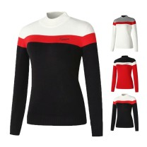 Golf apparel White, black, red S,M,L,XL,XXL female uatitua Long sleeve T-shirt