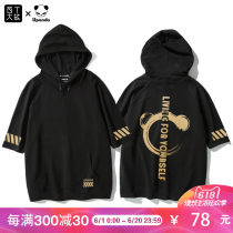 T-shirt Youth fashion black routine XXL Hundred T war 05UPD20180003 Cotton 70% polyester 30% Spring of 2018 Pure e-commerce (online only)