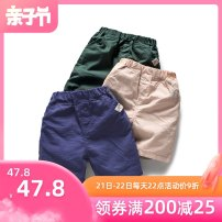 trousers Bambina male 100cm 110cm 120cm 130cm 140cm 150cm 160cm 3327 camel 3327 apricot 3327 green 3327 royal blue summer shorts leisure time No model Casual pants Leather belt middle-waisted Pure cotton (100% content) Don't open the crotch Cotton 100% hq20b3327 Class B hq20b3327 Spring 2020