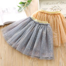 skirt Size 90 (recommended height 90cm), size 100 (recommended height 100cm), Size 110 (recommended height 110cm), Size 120 (recommended height 120cm), Size 130 (recommended height 130cm) Apricot, bluish grey Other / other female Other 100% spring and autumn skirt Korean version Dot A-line skirt S005